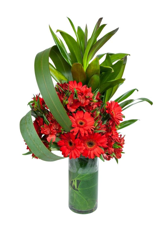 Une fleur dans la ville - Alto mix rouge R$ 200,00