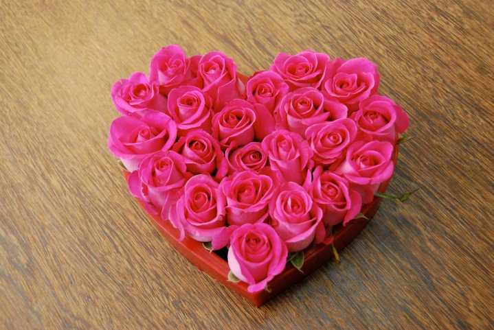 Coeur 24 roses R$ 150,00