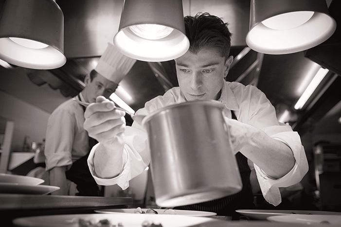 Portrait de Jean en cuisine