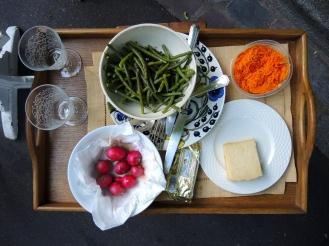 Verdura e legumes para equilibrar