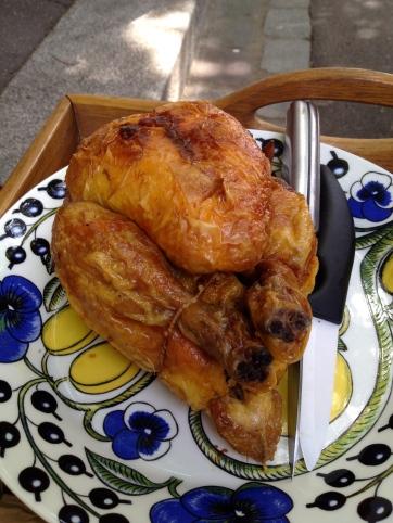 Poulet rôti du dimanche