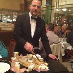 Carinho de queijos, só nos verdadeiros bistrô franceses