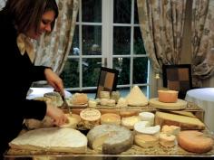 Tábua de queijos, Relais & Châteaux de la Côte Saint-Jacques