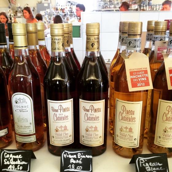 Pineau des Charentes, bebida aperitiva da região