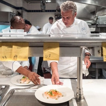 Chef Eric Ripert do Le Bernardin