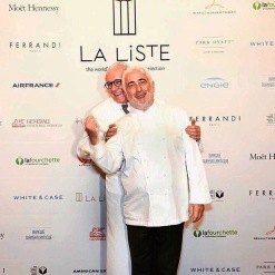 Chef Guy Savoy e Chef Alain Ducasse