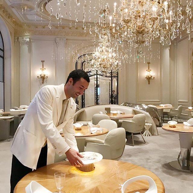Restaurant Alain Ducasse Plaza Athénée