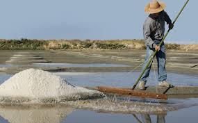 A cultura do sal em Guérande é uma atividade tradicional
