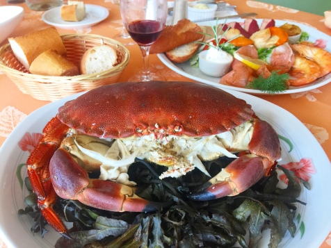 Plateau de fruits de mer, Frutos do mar fresquinhos