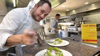 O Chef Alexandre Couillon, La Marine, 2 estrelas Michelin